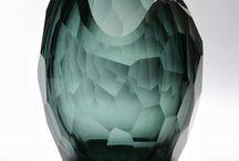 glass, pottery, silver & porcelin