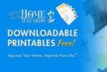 Downloadable Printables / Free Blank Print-At-Home Stationary to take a great inventory, leave tips, or remember the right groceries and gifts, all from radio show Home Wizards at YourHomeWizards.com