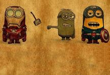 Minion >3 / it is a showcase of minions disguised in different ways and ironic (as ple Batman Superman etc.)