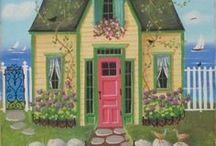 Рисуем город и дома