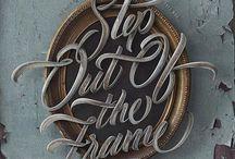 Typography / Text art