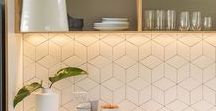 Kitchen Splashback Design / Kitchen Splashback Design