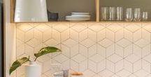 Kitchen Splashback Design / Kitchen Splashback Design
