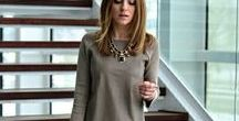 Fashion: Women Work Attire / A classy outfit coordinates well with our elegant looking jewelry.