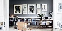 Wall Ideas / Gallery Walls, Art, Hanging Pictures, Wall Art