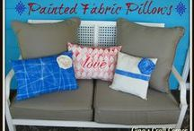 Pillows I've made / by Gina's Craft Corner