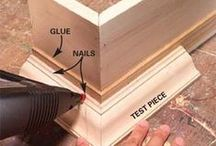 Wood Projects, How To's & Ideas / by Tammy Conte