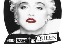 God save the Queen / Madonna = The One and Only Queen of Pop