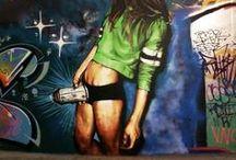 URBAN ART / Graffiti, sexiness and art.