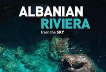 """Albanian Riviera from the Sky /  A well-known """"reporter from the sky """" currently associated with different TV station, photographer for Art Group , and director of Discover Albania, debuts his most recent work Albanian Riviera. The photographer feels great admiration and appreciation for the area that has inspired his most recent work. The album is a compilation of photographs taken over a time span of ten years.It provides the audience with an opportunity to enjoy the Albanian Riviera."""