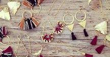 DIY Earrings / DIY Earrings, DIY Jewelry, Earrings Inspiration, Jewelry Inspiration, Earrings Ideas