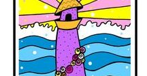 Art and Illustration / Art by Jayme Kinsey. Prints, designs, wall art, quote art, keepsake children's art illustrations.