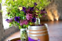 Wine Barrel Decor / What would a winery wedding be without wine barrels! Here are some great ways to use them. Wine Barrel rental @ Casa Larga Vineyards. www.casalarga.com