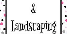 Gardening and Landscaping Ideas / Gardening tips and landscaping tips. Clever gardening hacks and DIY landscaping.