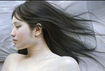 Art :: Realism Girls Picture / 絵画のリアリズム(写実主義絵画)the Realism Picture