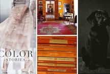 TSG Color Stories / Hues we love, where we them, and how we love to use them.