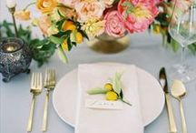 Tabletop / Settings and finishings to inspire your next dinner party (or your perfect table for two).