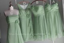 Mint Weddings / RENZ mint bridesmaids' dresses, mint bridesmaid dress, mint dresses, mint wedding,mint dress,dusty shale dresses, dusty shale,custom bridesmaidS' DRESS