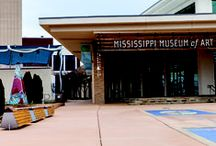 MS Museum of Art / The largest art museum in Mississippi, focused on engaging Mississippians in the visual arts through their exhibits, Art Garden, and events.