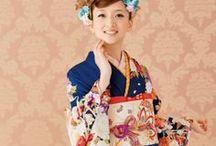 Photograph IDEA :: Furisode / Pose example & Location of the Long-sleeved kimono