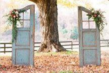 Old Door Wedding Decor