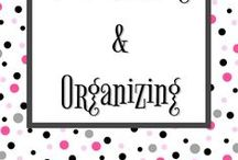 Decluttering and Organizing / Simplify your life with great decluttering and home organization tips. Set up systems that work, and get inspired by awesome photos of organized homes.