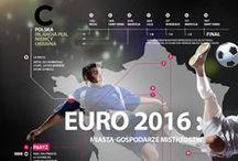 EURO 2016 / Już niebawem w Saint Denis rozpoczną się Mistrzostwa Świata w Piłce Nożnej. Na naszej tablicy znajdziecie ciekawe produkty związane z Euro 2016 oraz kilka ciekawych faktów na temat miast-gospodarzy.