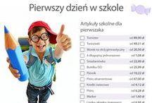 Witaj szkoło! / Porównywarka cen idealo.pl przygotowała dla rodziców pierwszaków (oraz uczniów wszystkich innych klas) małą ściągę: infografikę z checklistą zawierającą wszystko, czego maluch potrzebuje w zbliżającym się roku szkolnym oraz zestawienie najpopularniejszych na idealo.pl tornistrów.