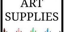 Art Supplies / Art supplies. Frugal art supplies. Luxury art supplies. My favorite art supplies and art tools.