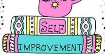 Self Improvement / Self improvement. Self-help. Making stuff better.