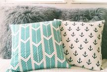 Pillow Talk / I love Different Types of Pillows all shapes and Sizes  / by Boston Bruins Chic
