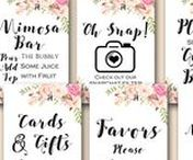Decoration Sign Printable / Decoration Signs, Wedding Signs, Bridal shower Sign, Baby Shower signs