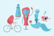 Illustration / Playfull, refreshing illustrations.