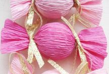 Pink and gold party ideas / Ava's 2nd birthday party