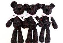 teddy bears / handmade and creative toys for child and adults