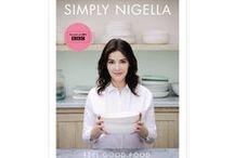 Simply Nigella / Volně dostupné recepty z kuchařky Nigelly Lawson Simply Nigella