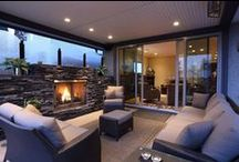 Outdoor Living / A selection a beautiful outdoor living spaces to get the best out of the Summer months