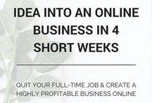 Online business tips. / online business tips + tricks