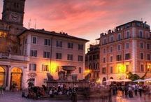 Trastevere, Roma / We may be in the heart of Rome, but Trastevere is quaint and perfect for our students. Escape a little of the city life while remain in the centre of it, Trastevere is a locals neighbourhood. It guarentees the best food, friendly faces, and beautiful sights!