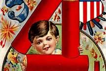 Vintage Postcards - 4th of July / by HSWS