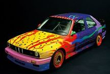 BMW ART CARS / Art by outstanding world renowned artists and BMWs - WHAT COULD BE BETTER? :) XOX