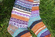 носки и гольфы / носки гетры гольфы жаккардового вязания