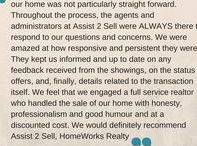 Testimonials / Don't take our word for it...here' what our clients are saying about us!