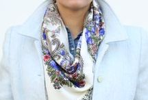 Russian scarves / Russian scarf. Russian shawls. Russian shawl.