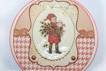 Boże Narodzenie - kartki / Bożonarodzeniowe kartki wykonane własnoręcznie to doskonała oprawa dla szczerych życzeń płynących prosto z serca.
