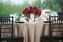 August 28th Wedding! /  Colors of champagne, burgundy, rose gold, and dusty rose with greenery.  / by Caitlin Stratton