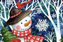 Tél, Mikulás, Karácsony