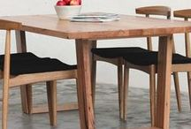 YARD Timber Tables / Custom dining / occasional tables we have crafted using locally sourced recycled hardwoods.