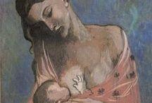 P a b l o  P i c a s s o / Pablo Picasso (1881-1973) gilt als einer der bedeutendsten Wegbereiter und Repräsentanten der modernen Kunst. An (fast) allen großen avantgardistischen Strömungen der ersten Jahrhunderthälfte hatte der spanische Maler, Zeichner, Bildhauer, Grafiker und Objektkünstler entscheidenden Anteil.