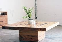 YARD Coffee Tables / Custom made home furnishings, made entirely from recycled hardwoods here in Melbourne.